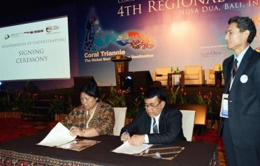 MOU Signing Between CTI-CFF Regional Secretariat...