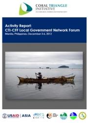Report: CTI Local Government Network and Executive Course, Manila, December 2012