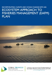 Guidelines: Incorporating Climate and Ocean Change into an Ecosystem Approach to Fisheries Management (EAFM) Plan