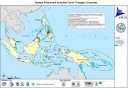 Map: Marine Protected Areas in the Coral Triangle, December 2009