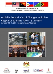 Activity Report: 2nd CTI Regional Business Forum, Kuala Lumpur, Malaysia, October 2011