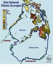 Map: Sulu-Sulawesi Marine Eco-Region