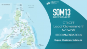 SOM 13 - Session 10 - Cross-cutting Themes Report Presentations LGN