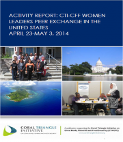 Activity Report: CTI-CFF Women Leaders Peer Exchange in The United States, April 23-May 3, 2014